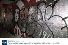 Nowojorska policja szuka osób, które zniszczyły mural upamiętniający Powstanie Warszawskie