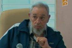 Fidel Castro miał napisać list do Diego Maradony. Na zdjęciu: Castro w 2013 roku
