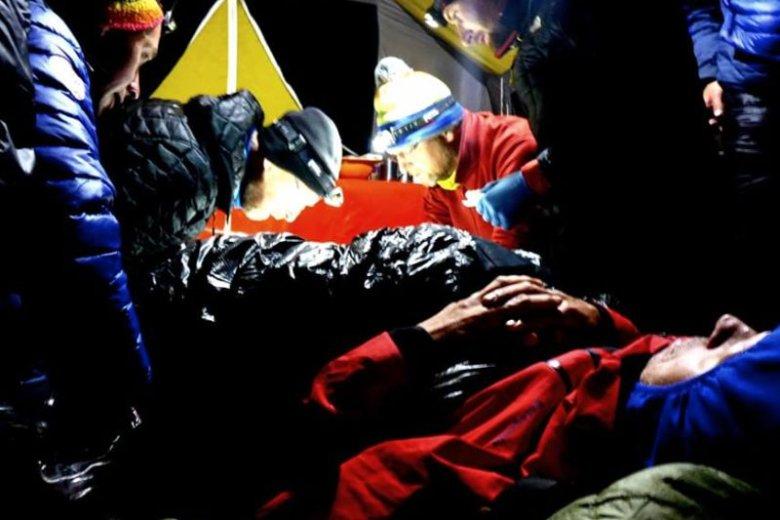 Polacy uczestniczyli w akcji ratunkowej na Broad Peak.