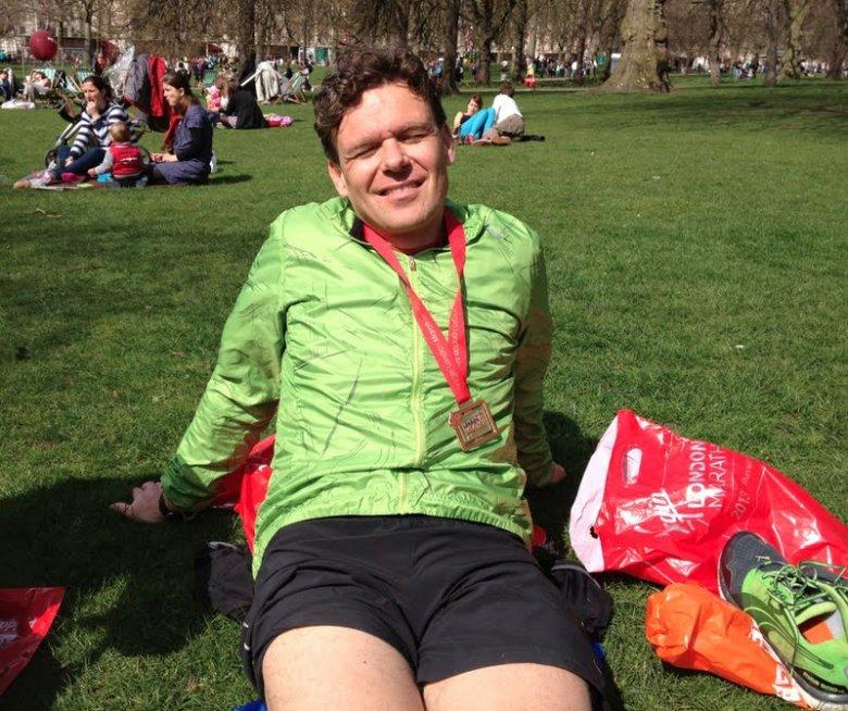 Maraton w Londynie. Już po. Szczęście :)