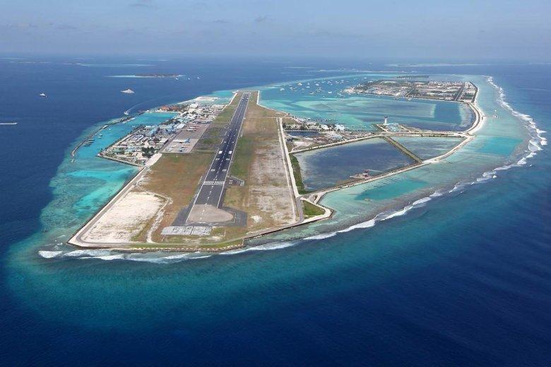 Lotnisko w Male - stolicy Malediwów