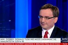 """I kto tu robi cyrk? Ministra Ziobro chyba zawiodła pamięć, gdy oskarżał Tuska, że """"wywołuje histerię"""""""