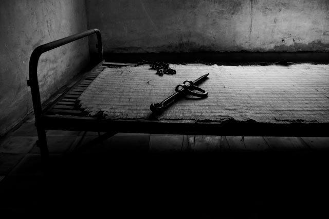 Więzienie Tuol Sleng, dziś muzeum zbrodni Czerwonych Khmerów