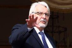 """Bruksela poucza Waszczykowskiego jak uczniaka. """"Żałujemy, że minister nie rozumie roli, struktury i kompetencji KE"""""""