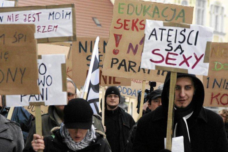 II Zielonogórski Marsz Ateistów i Agnostyków.