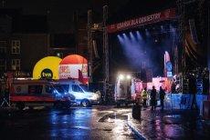 Finał WOŚP w Gdańsku ochraniała agencja Tajfun.