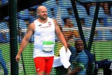 Piotr Małachowski nie dał dziś szans rywalom i zajął pierwsze  miejsce w konkursie rzutu dyskiem. Mamy złoto!