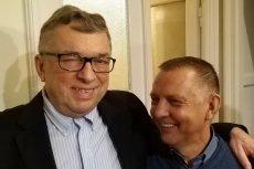 """Ryszard Kapuściński, szef Klubów """"Gazety Polskiej"""" pochwalił się zdjęciami z Marianem Banasiem."""
