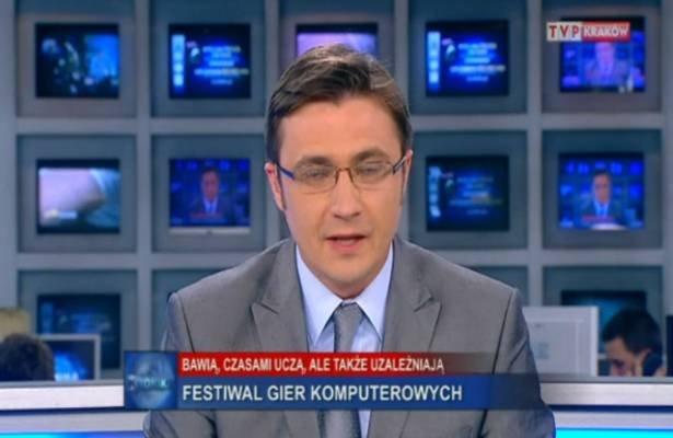TVP Info o europejskim festiwalu gier Digital Dragons.