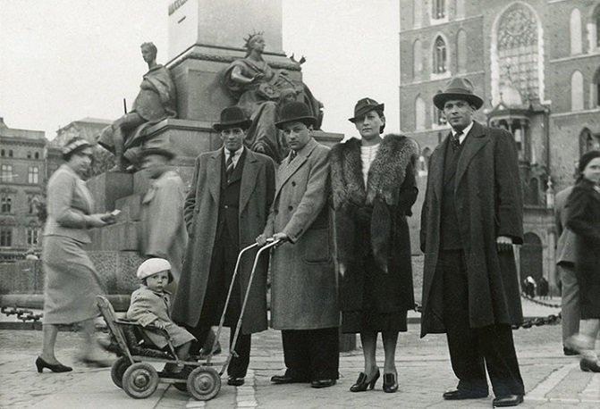 Około czteroletni Roman w Krakowie