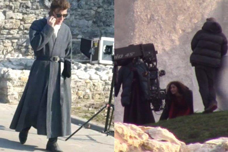 """Fani """"Wiedźmina"""" zachowują sięniczym paparazzi i obfotografowali plan zdjęciowy """"Wiedźmina"""""""