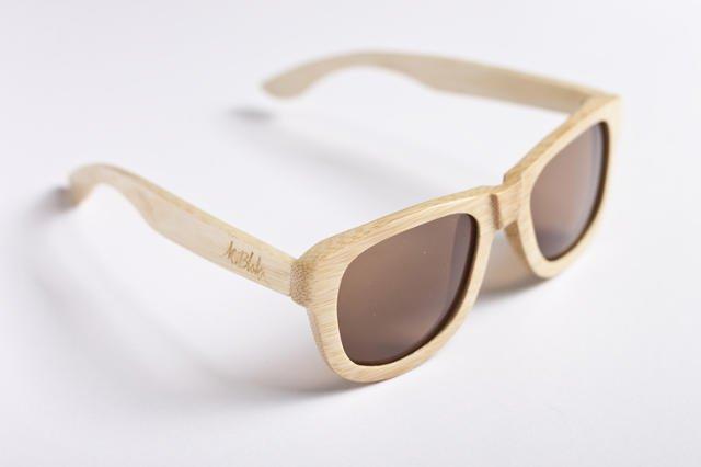 M. Blok proponuje drewniane okulary Bamboo.
