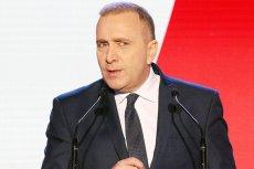 Szef Platformy Obywatelskiej Grzegorza Schetyna