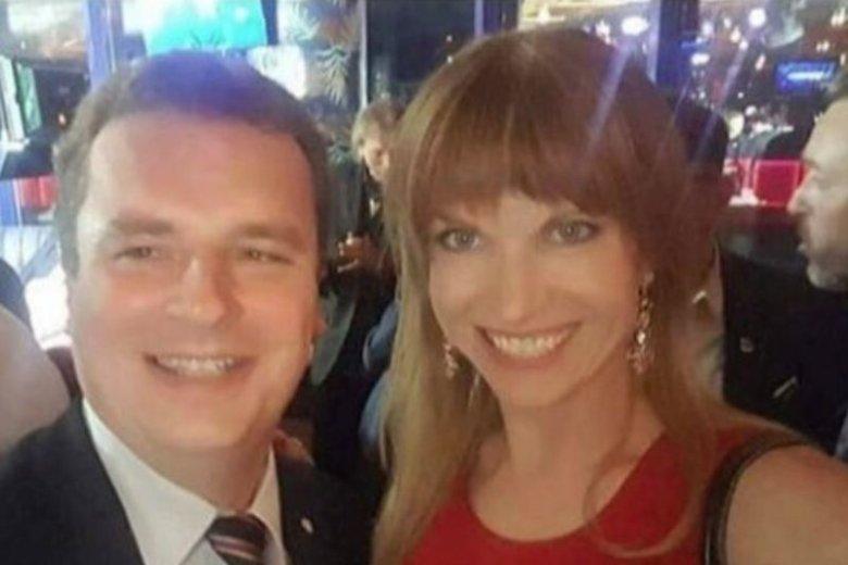 Magdalena Wilk z mężem Jackiem Wilkiem. Zbyt szybko świętowali sukces Konfederacji w wyborach.
