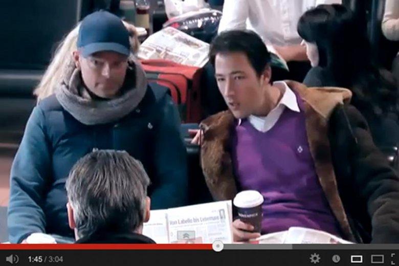 """Kadr z nowej reklamy Nivea """"Stresstest"""""""
