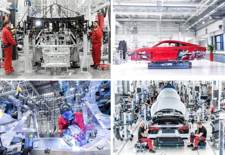 Audi R8 to naprawdę własnoręczna robota.