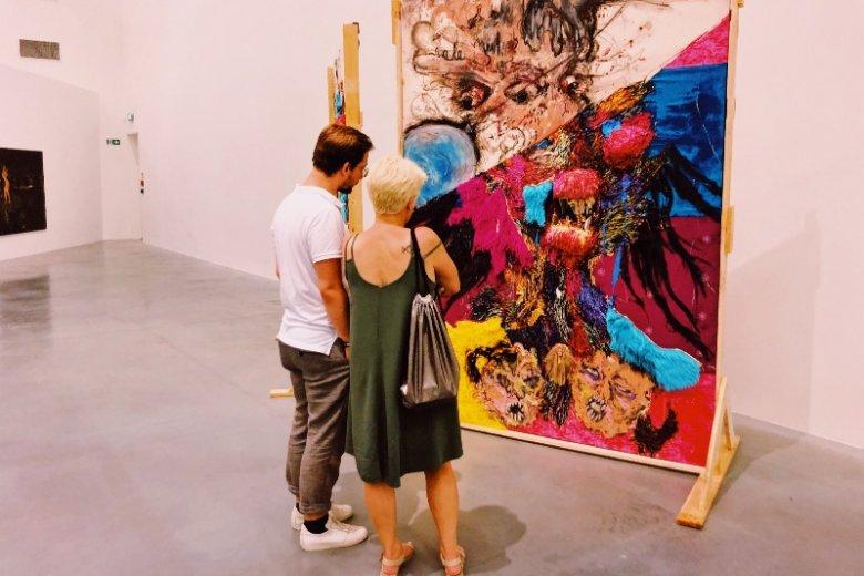 Malarstwo to dziś nie tylko klasyczne płótno, w prostokątnej ramie