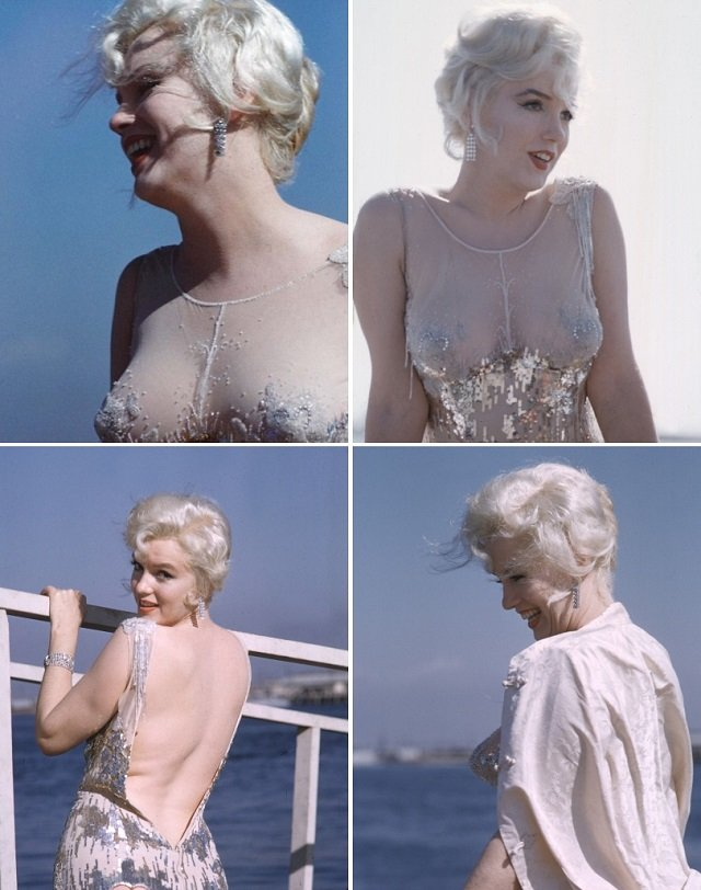 "Marilyn Monroe i jej ""naked dress""."