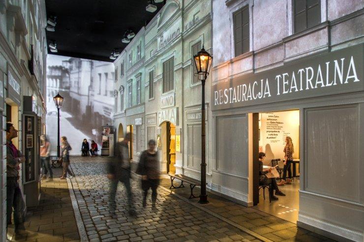 Wystawa stała Na żydowskiej ulicy (1918–1939)