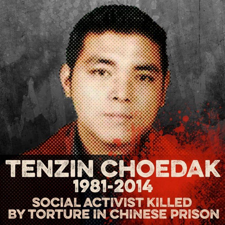 Tenzin Czoedak, Tybetański działacz społeczny, więzień polityczny, zmarł 5 grudnia w wyniku tortur, dwa dni po zwolnieniu z chińskiego więzienia.
