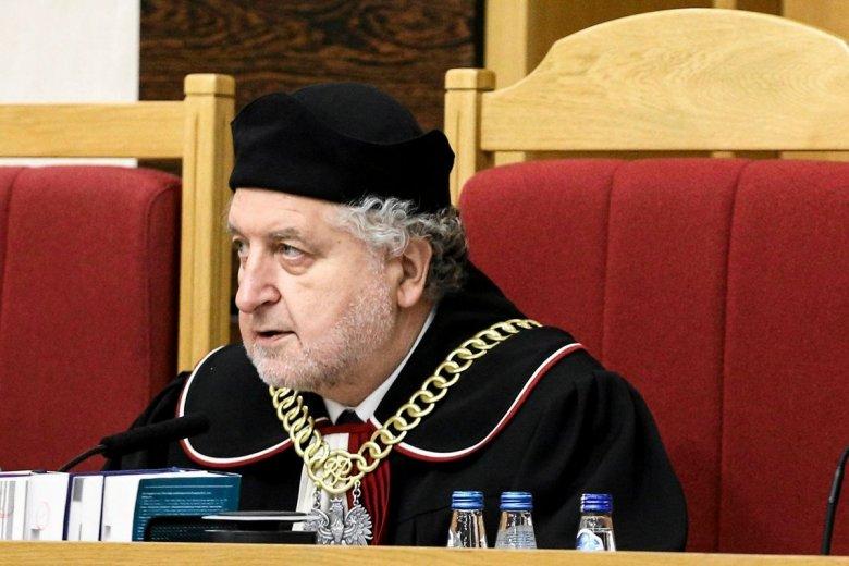 Prezes TK sędzia Andrzej Rzepliński.