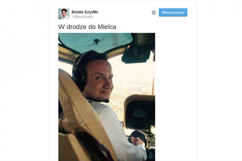 Beata Szydło apeluje, by w kampanii nie wykorzystywać przetargu na śmigłowce dla wojska. Sama to robiła.