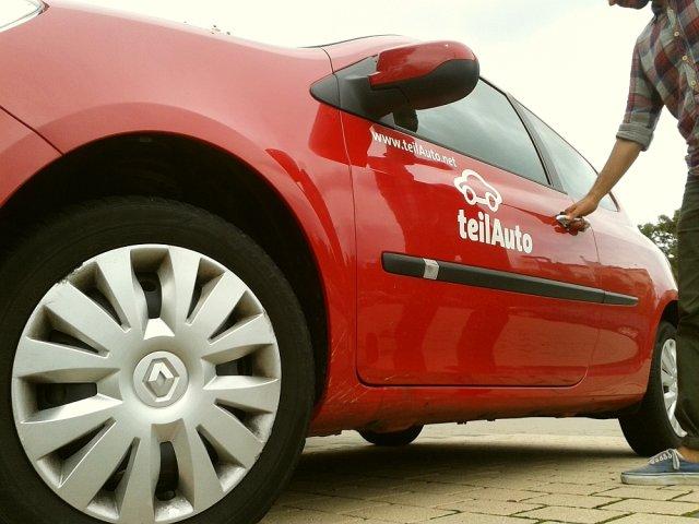 System samochodów publicznych teilAuto w Magdeburgu to dopiero 11 stacji i 16 samochodów. Car-sharing w Berlinie to już kilka tysięcy pojazdów.