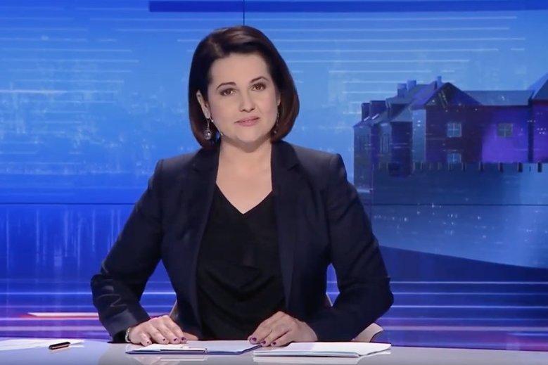 """W """"Wiadomościach"""" TVP tylko wspomniano krótko o tym, że opozycja ma większość w Senacie."""
