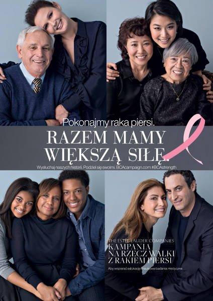Kompletny visuel kampanii z Różową Wstążką