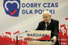 """Jarosław Kaczyński wyjaśnia swoje słowa, że śmierć Jana Szyszki """"nie była przypadkiem""""."""