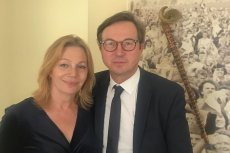 Maja Barełkowska i Piotr Cyrwus