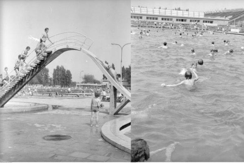 Dawniej baseny Skry przy Wawelskiej 5 były pełne ludzi. Dziś są kompletnie zaniedbane