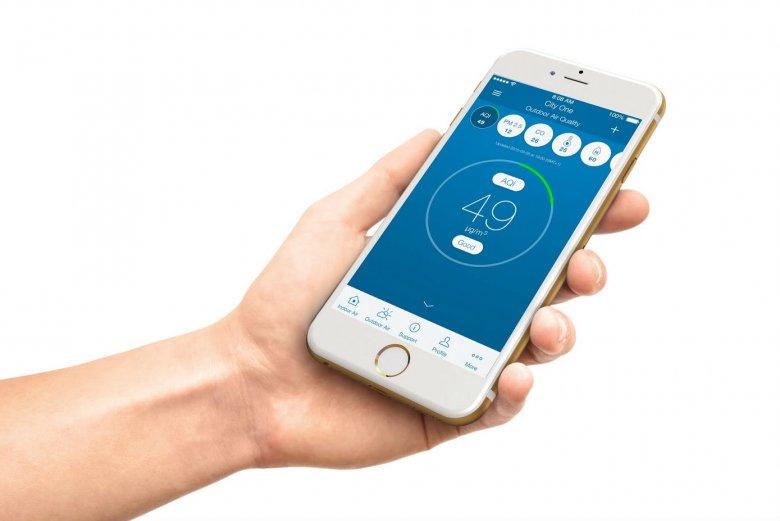 Specjalna aplikacja zapewnia naprawdę łatwą obsługę sprzętu
