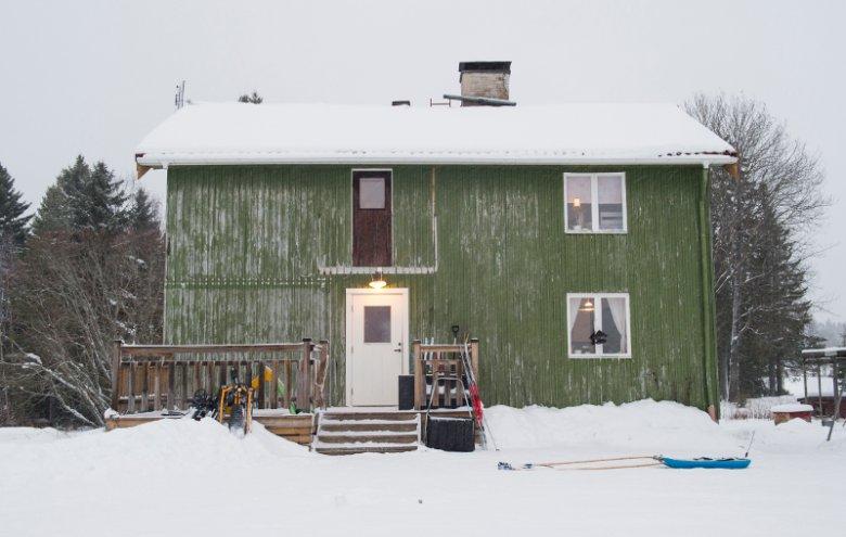 Rodzina Ringner mieszka w tym domu od 7 lat.