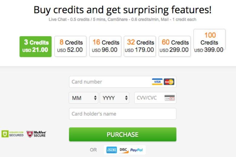 Serwis randkowy, za który możesz zapłacić Paypal