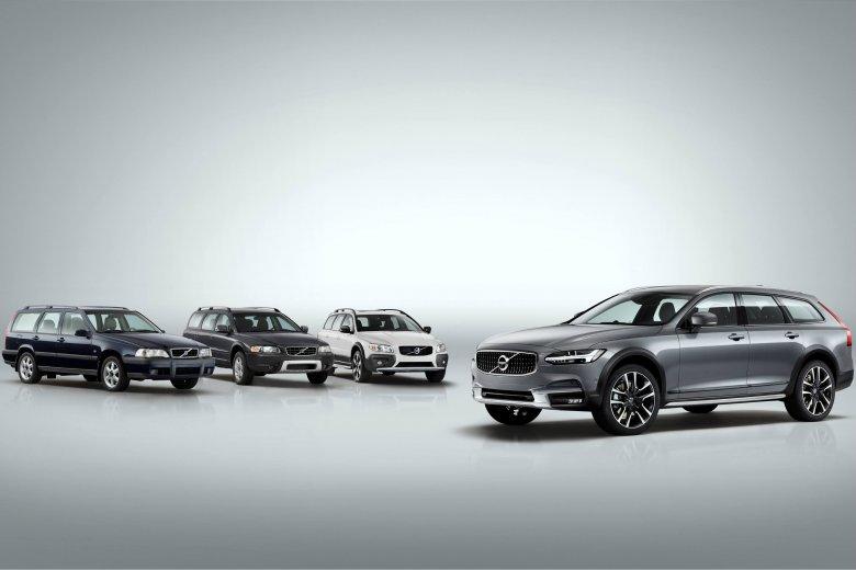 Kombi od Volvo wczoraj i dziś