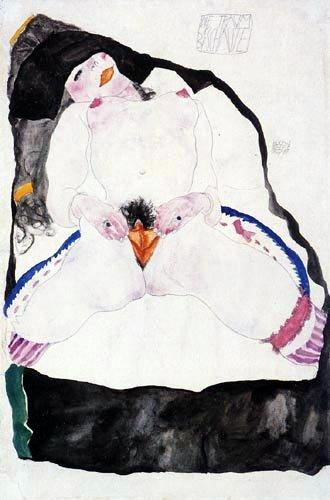 Egon Schiele, Die Traum Beschaute, 1911