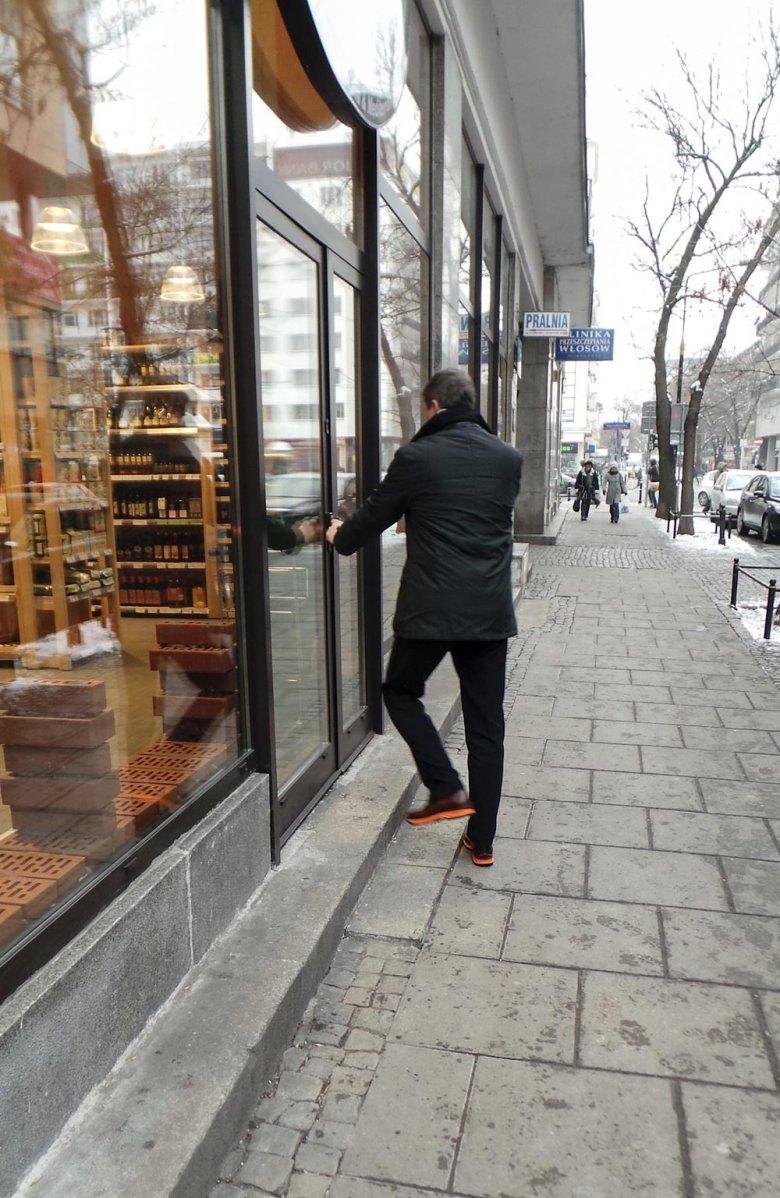 Janusz Palikot idzie po zakupy