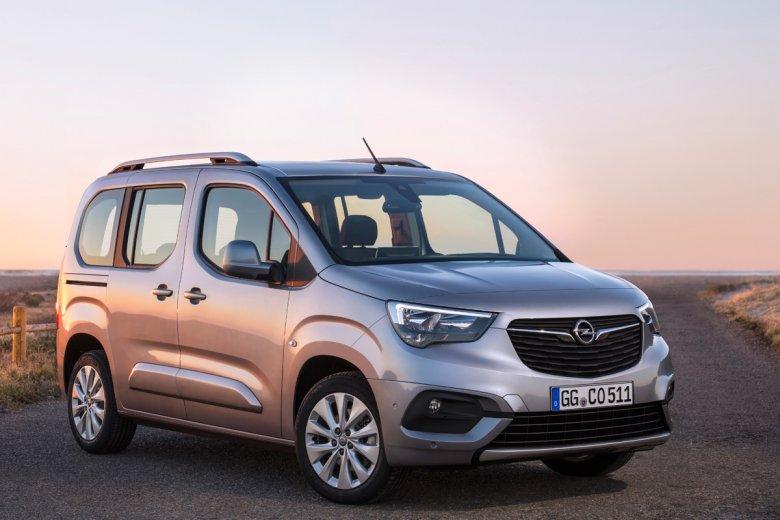 Opel Combo Life do sprzedaży wejdzie dopiero za kilka miesięcy.