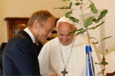 O czym Donald Tusk rozmawiał z papieżem Franciszkiem?