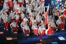 Reprezentacja Polski podczas ceremonii otwarcia Igrzysk Olimpijskich