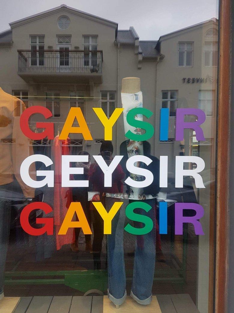 Najbardziej popularna marka odzieżowa na Islandii. Fot. Piotr Wojciechowski
