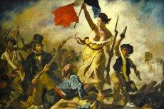 """""""Wolność na barykadach"""", obraz Ferdinanda Delacroix z 1830 roku"""