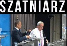 Donald Tusk pomaga Junckerowi