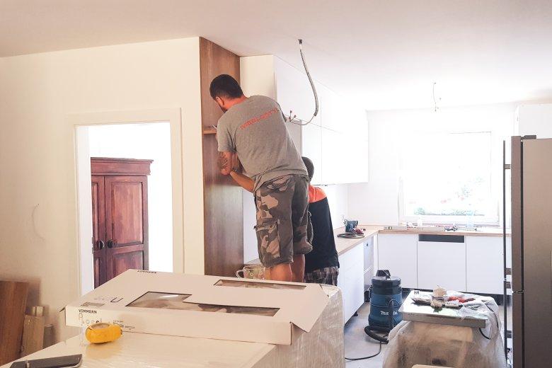 W domu Pauli i Krzysztofa fachowcy pracowali przez dwa tygodnie pełną para jednocześnie.