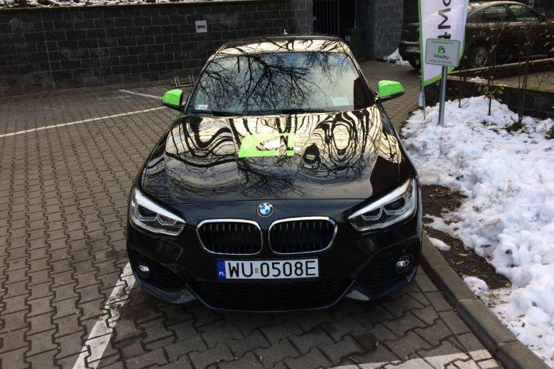 Parking 4Mobility mieści się w centrum Warszawy.