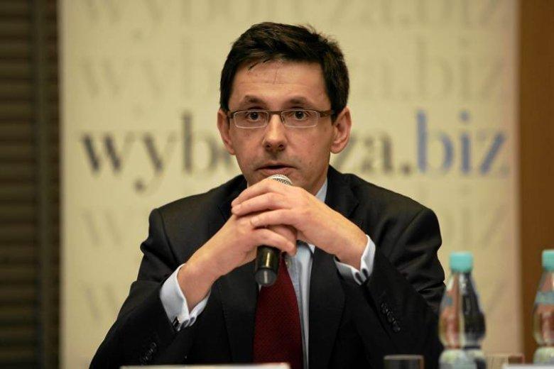 Minister skarbu Mikołaj Budzanowski