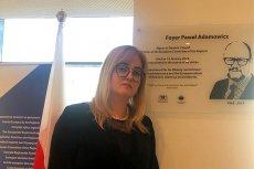 Magdalena Adamowicz opublikowała zdjęcie odsłoniętej tablicy Pawła Adamowicza w Europejskim Komitecie Regionów.
