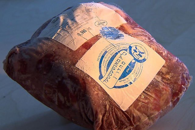 Koszerne mięso z Polski jest dostępne w Izraelu