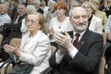 Antoni Macierewicz oraz Hanna Natora znają się ze sobą od ponad 50 lat.